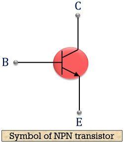 symbol of npn transistor