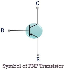symbol of pnp transistor