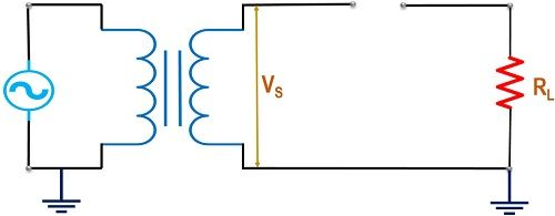 reverse biased condition of half wave rectfier circuit