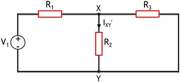 circuit for superposition's theorem theory - 1