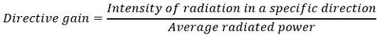 antenna gain eq8