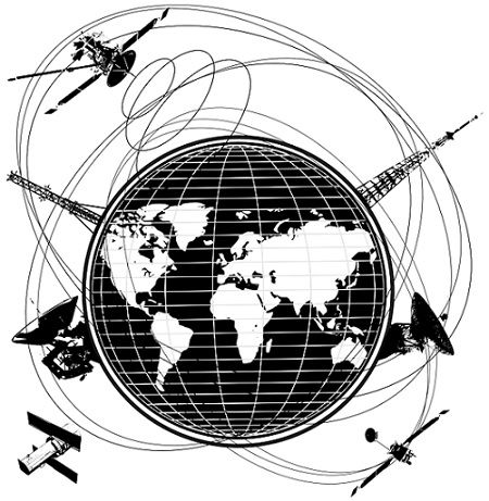orbits of satellite around earth