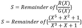 syndrome equation-4